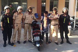 CSGT bắt tên trộm xe máy từ Phan Thiết vào Sài Gòn tiêu thụ