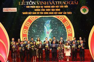 Trao giải thương hiệu Việt tiêu biểu: Người Việt chuộng hàng Việt