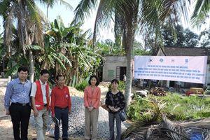 Hỗ trợ 300 ngôi nhà an toàn chống bão lũ cho người dân miền Trung