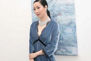 Hoa hậu Đền Hùng Giáng My 'siêu mộc' tại show Lam Boutique