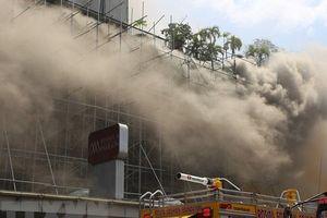 Philippines: Cháy lớn ở khách sạn, ít nhất 4 người thiệt mạng