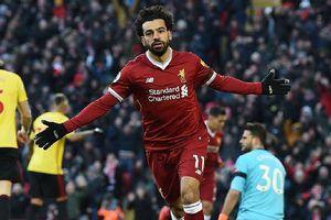 Liverpool đè bẹp Watford, Salah lập hàng loạt kỷ lục