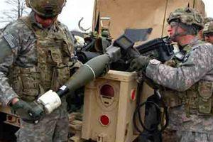 Thổ thu kho đạn cối thông minh Mỹ tại Afrin