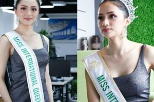 Hoa hậu Hương Giang:Nhuộm tóc cũng bị tước vương miện