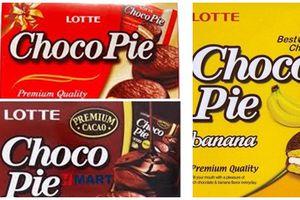 Bánh Choco Pie Lotte bị thu hồi có bán tại Việt Nam?