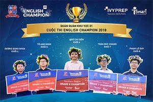 10 thí sinh xuất sắc bước vào vòng Chung kết English Champion 2018
