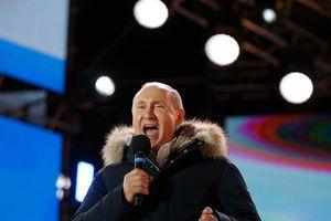 Bầu cử Nga: Tổng thống Putin thắng áp đảo