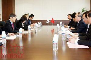 Bí thư Thành ủy Nguyễn Thiện Nhân mong muốn JICA xem xét, tiếp tục hỗ trợ vốn ODA