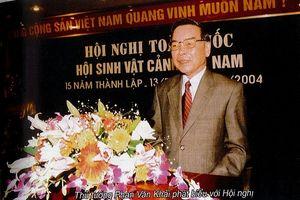 Ấn tượng về những chỉ đạo của Nguyên Thủ tướng Phan Văn Khải tại Hội nghị kỷ niệm 15 năm thành lập Hội Sinh Vật Cảnh Việt Nam