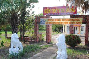 Đề nghị di dời linh vật không rõ xuất xứ ra khỏi Đền thờ Vua Hùng