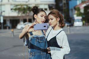 Chụp ảnh street style sang chảnh như Fung La, Thùy Dương