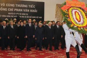 Niềm tiếc thương cố Thủ tướng Phan Văn Khải của lãnh đạo Đảng, Nhà nước