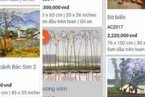 Giới họa sĩ bức xúc khi tác phẩm đạo, chép rao bán công khai trên mạng
