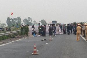 Truy bắt lái xe container gây tai nạn khiến 2 người tử vong