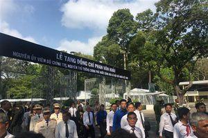 Hàng nghìn người đến Lễ viếng nguyên Thủ tướng Phan Văn Khải