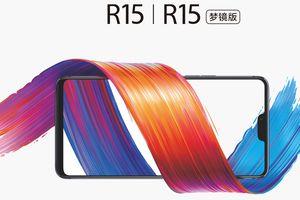 OPPO R15 chính thức ra mắt: màn hình OLED có tai thỏ, hai phiên bản chip Helio P60/Snapdragon 660
