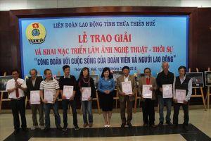 LĐLĐ Thừa Thiên-Huế: Trao giải cuộc thi ảnh công đoàn với cuộc sống của Đoàn viên và người lao động