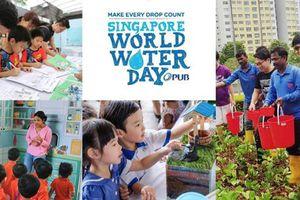 Hàng loạt hoạt động hưởng ứng Ngày Nước Thế giới