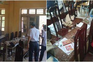 Hà Nội: 3 học sinh nhập viện vì bị mảng trần nhà rơi trúng đầu