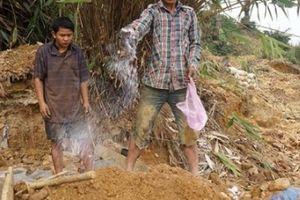 Sau vụ vỡ đập bãi vàng Bồng Miêu: Làm rõ hành vi bao che 'vàng tặc'
