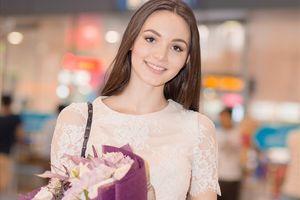 Hoa hậu Đại sứ du lịch thế giới 2017 Aibedullina Talliya đến Việt Nam