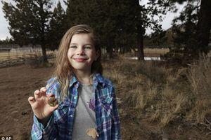 Bé 7 tuổi 'khai quật' được hóa thạch 65 triệu năm
