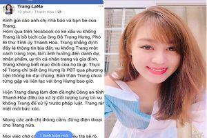 Cô gái bị đồn là 'bồ nhí' một lãnh đạo Thanh Hóa đăng tin khẳng định bị vu khống