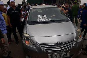 Cán bộ Công an Hà Tĩnh lái xe đeo biển số giả bị phạt gần 11 triệu