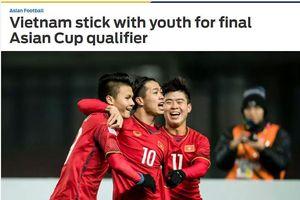 BẢN TIN thể thao: Báo châu Á ấn tượng với danh sách ĐT Việt Nam