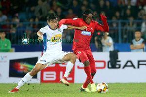 Siêu phẩm sút phạt của Xuân Trường được bình chọn vào top 5 bàn thắng đẹp vòng 2 V.League 2018