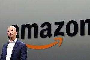 Chỉ sau Apple, Amazon có vốn hóa thị trường đứng thứ hai tại Mỹ