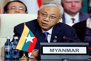 Sau loạt tin đồn 'thất thiệt', Tổng thống Myanmar chính thức từ chức