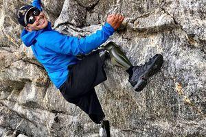 Người đàn ông 'không chân' chinh phục nhiều đỉnh núi