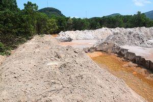 Vỡ đập thải của nhà máy vàng: Phạt xả thải, kiểm tra hoạt động đồn công an