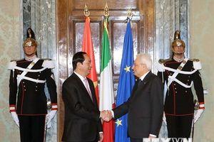 Điện mừng kỷ niệm 45 năm thiết lập quan hệ ngoại giao Việt Nam-Italy