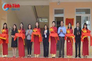 Agribank Hà Tĩnh bàn giao 4 công trình trường học an sinh xã hội