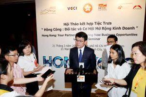 DN Hồng Kông hướng đến đầu tư dịch vụ, công nghệ ở VN