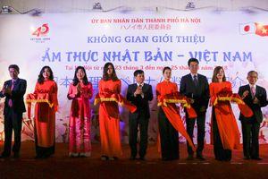 Hà Nội: Khai mạc chương trình giới thiệu ẩm thực Nhật Bản - Việt Nam