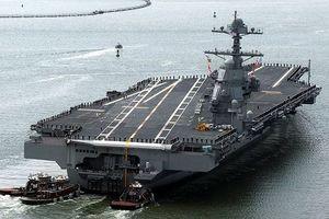 Hải quân Mỹ sắp mua liền 2 tàu sân bay lớp Gerald R Ford