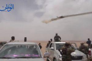 Trực thăng Nga xung trận hủy diệt quân thánh chiến Syria