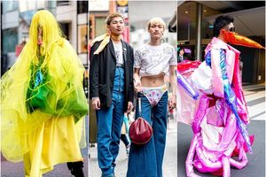 Hoảng hồn với những street style 'dị' đến tận cùng tại Tokyo Fashion Week 2018