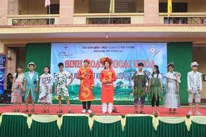Hơn 1000 học sinh tỉnh Quảng Trị hưởng ứng sự kiện 'Giờ Trái Đất 2018″