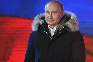 Nga công bố kết quả chính thức cuộc Bầu cử Tổng thống năm 2018