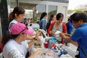 Hội Chữ thập đỏ Việt Nam hỗ trợ nạn nhân vụ cháy chung cư Carina