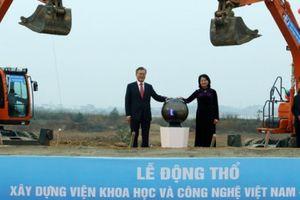 Khởi công xây dựng Viện Khoa học và Công nghệ Việt Nam – Hàn Quốc sau 5 năm 'phôi thai'
