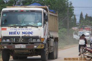 Bình Định: Huyện Tây Sơn vẫn nhức nhối nạn khai thác, vận chuyển, mua bán đất sét