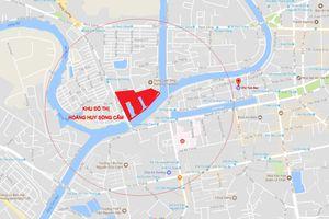 Hoàng Huy Riverside: Xây 'hộ' 2 chung cư, được hơn 300 biệt thự