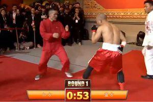 Boxer đấm gục võ sư Vịnh Xuân bằng một tay