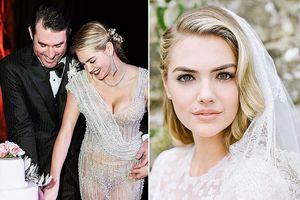 Siêu mẫu Kate Upton khoe ảnh cưới ở Italy sau gần nửa năm kết hôn