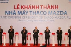 Thủ tướng dự Lễ khánh thành Nhà máy sản xuất ô-tô du lịch hiện đại nhất Đông - Nam Á